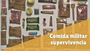 comida militar supervivencia